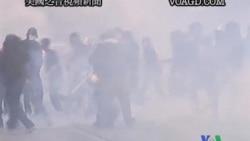 """2011-10-16 美國之音視頻新聞: 紐約數十名""""佔領""""運動抗議者被捕"""
