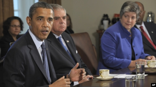 President Barack Obama during a Cabinet meeting at the White House in Washington,  Oct. 3, 2011