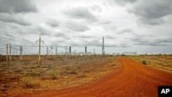 Instalasi minyak di Sudan Selatan yang terbengkalai akibat sengketa minyak dengan Sudan (foto: dok).