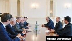 İlham Əliyev və ATƏT-in Minsk Qrupunun həmsədrləri