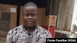 Sócrates Filipe, assassinado pela polícia, Luanda, Angola