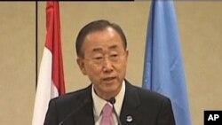 Ο γ.γ. του ΟΗΕ ζητά απ' τον Πρόεδρο της Συρίας να σταματήσει τη βία