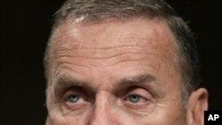 Former U.S. national security adviser (retired) General James Jones (FILE).