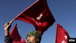 Kelompok Maoist Nepal yang beroposisi menyerukan protes nasional.