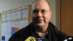 Корреспондент «РИА Новости» Леонид Свидиров