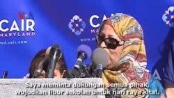 Peringati Idul Adha, Pelajar Muslim AS Serukan Bolos Bersama