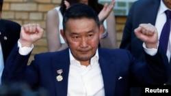 蒙古總統巴特圖勒嘎資料照。