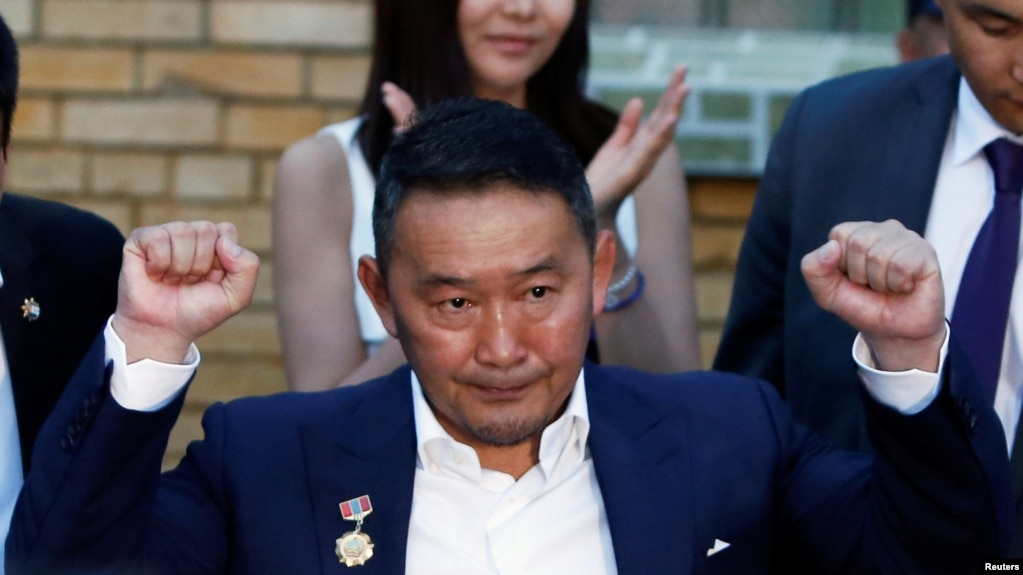 蒙古國新總統巴特圖勒嘎