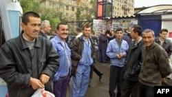 Таджикские мигранты в Москве