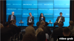 """美国布鲁金斯学会近日在华盛顿举行""""乌克兰危机后的美俄关系""""研讨会(视频截频)"""