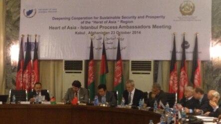 کابل کې د آسیا د زړه د هیوادونو د کنفرانس یوه څنډه