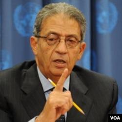 Sekjen Liga Arab, Amr Moussa