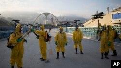 Zaprašivanje komaraca u Rio de Žaneiru