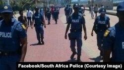 La police dans le KwaZulu-Natal, Durban, Afrique du Sud, 17 décembre 2016. (Facebook/South Africa Police)
