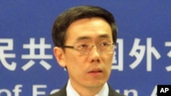 Liu Weimin, spokesperson for the Chinese Foreign Ministry
