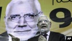 Кандидат организации «Братья-мусульмане» Мохаммед Морси