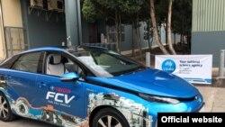 Kendaraan sel bahan bakar Toyota Mirai terbukti siap untuk diisi dengan hidrogen yang diproduksi CSIRO, sebagai ilustrasi. (Foto: Courtesy/CSIRO)