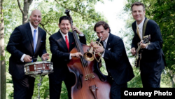 The Four Freshmen: From left, Bob Ferreira, Vince Johnson, Curtis Calderon, Brian Eichenberger