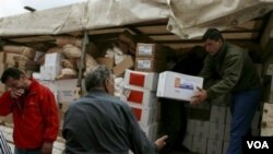 Bantuan Rusia untuk warga etnis Serbia di Kosovo utara tiba hari Jumat (16/12).