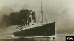 Liverpul limanını tərk edən Mavritaniya gəmisi