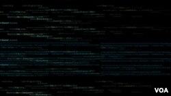 Une illustration de l'attaque au virus, cybaerattaque