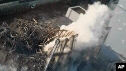 福島反應堆爆炸後核電廠的破壞程度