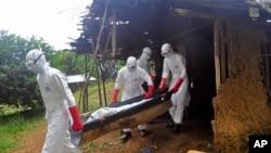 Việc thực thi các phương thức an toàn trong việc chữa trị Ebola và chôn xác các nạn nhân đã góp phần làm chậm sự lây lan của dịch bệnh này.