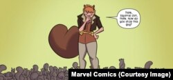 The Unbeatable Squirrel Girl is a college student who can talk to squirrels, and often uses non-violence to stop crime.