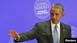 Prezident Barak Obama Nyu-Yorkda BMT yig'inida, 29-sentabr, 2015