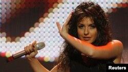 Սիրուշոն՝ «Եվրատեսիլ-2008»-ի փորձի ժամանակ (արխիվային լուսանկար)