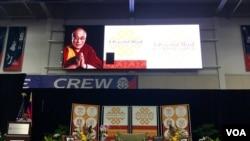 达赖喇嘛华盛顿美利坚大学发表演讲