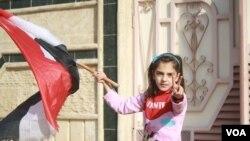 მოსახლეობა მოსულში ერაყის ჯარებს ხვდება