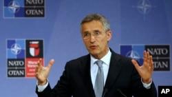 Tổng thư ký NATO Jens Stoltenberg. (Ảnh tư liệu)