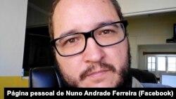 Nuno Andrade Ferreria, jornalista e coordenador da Rádio Morabeza, Cabo Verde