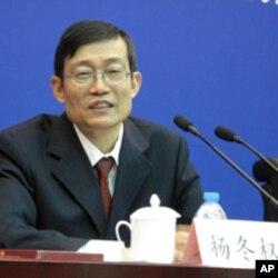 中国国家档案局局长杨冬权
