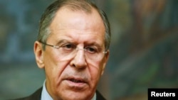 FILE - Russian Foreign Minister Sergei Lavrov