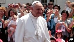 El papa Francisco viajaría a Argentina, Uruguay, Chile y Perú como parte de su gira.