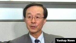 한승주 전 한국 외무장관. (자료사진)