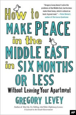 'How To Make Peace In The Middle East In Six Months Or Less Without Leaving Your Apartment' is a humorous attempt to explore the possibilities of finding a lasting solution to the Middle East conflict.