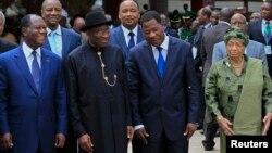 Wasu shugabannin ECOWAS