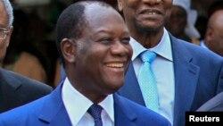 Shugaban Ivory Coast Alassane Ouattara