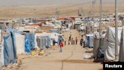 په عراق کې د سوري مهاجرو یو کمپ