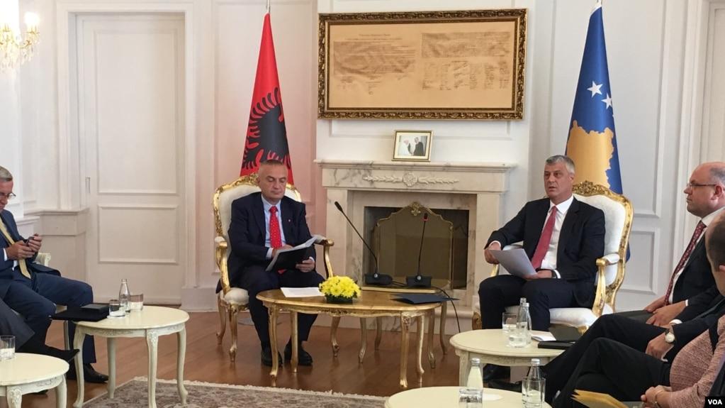 Presidenti i Shqipërisë Ilir Meta në Kosovë