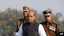 بھارت کے وزیر داخلہ راج ناتھ سنگھ (فائل فوٹو)