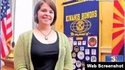 이슬람 수니파 무장조직 ISIL에 인질로 잡혀 있던 중 사망한 미국인 여성 케일라 뮬러 씨. (자료사진)
