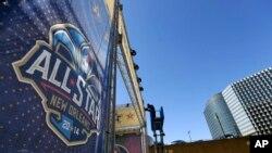 Le All Star Game est organisé à la Nouvelle Orléans en 2017.