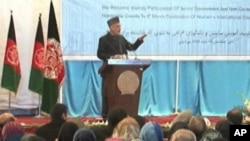 کرزی همکاری ستراتژیک با امریکا را مشروط به حفظ منافع افغانستان دانست