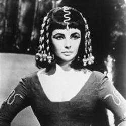 """Elizabeth Taylor as """"Cleopatra"""""""