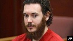 James Holmes, hung thủ vụ nổ súng ở rạp hát Aurora, tại tòa án ở Centennial, Colorado, 4/6/2013.