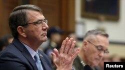 د امریکا د دفاع وزیر، دا اعلان، په کانگرس کې د وسله والې کمیټې د جرگه گۍ په استعماعیه غونډه کې وکړ.